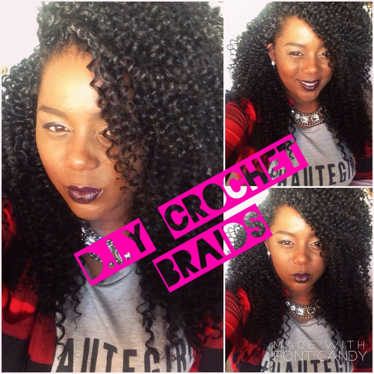 DIY Crochet tutorial. Freetress water wave. Crochet braids. Protective styling. YouTube. Natural hair