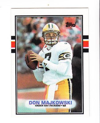 1989 Topps Card 373 Don Majkowski QB Green Bay Packers | eBay