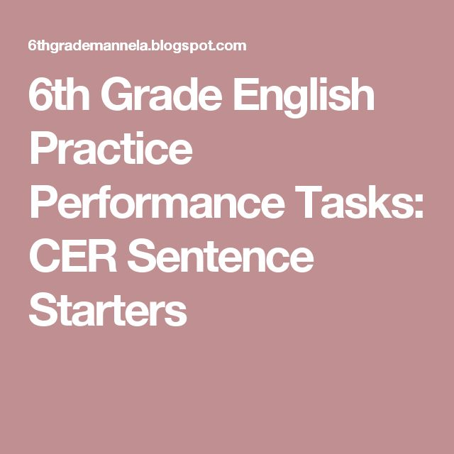 1000 Ideas About Sentence Starters On Third Grade Writing