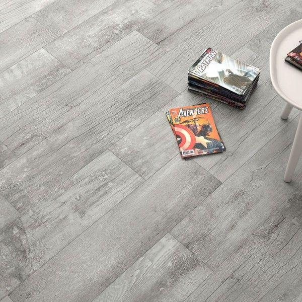 Grey Porcelain Wood Effect Flooring | Direct Tile Warehouse