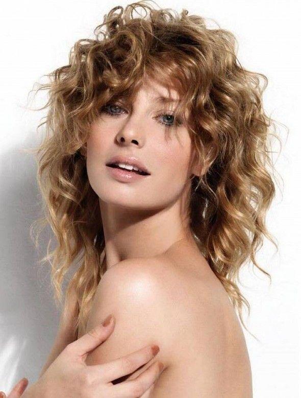 fcil medio rizado peinados para mujeres