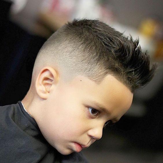 Corte de cabello para bebes lima