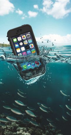 Accidents happen. Protect yourself with a LifeProof nüüd Waterproof iPhone 5s Case!