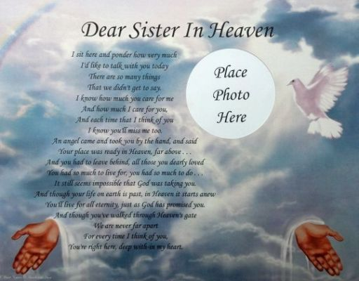 Best 25+ Sister In Heaven Ideas On Pinterest
