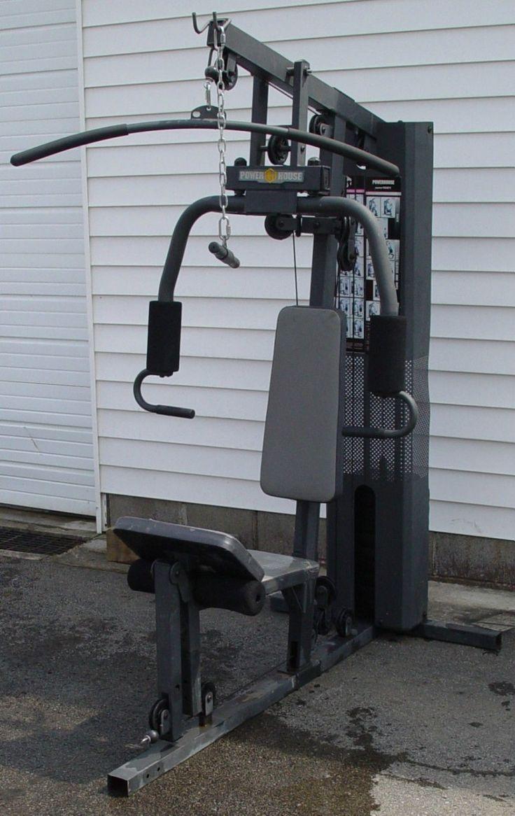 Awesome powerhouse wm home gym ideas photo