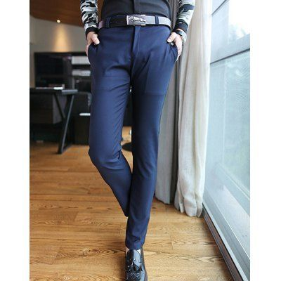 Style:+Casual+ Material:+Cotton+ Fit+Type:+Regular+ Waist+Type:+Mid+ Closure+Type:+Zipper+Fly+ Front+Style:+Flat+ Weight:+1KG+ Pant+Length:+Long+Pants+ Pant+Style:+Straight+ Package+Contents:+1+x+Pants