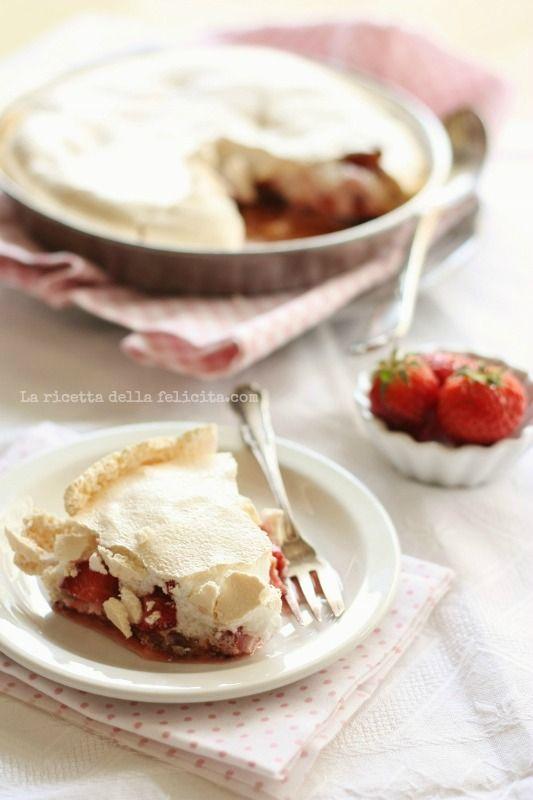 La ricetta della felicità: Crostata meringata alle fragole.... deliziosamente golosa!
