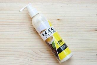 COCO et ANANAS - lotion pour le corps bio - organic body lotion