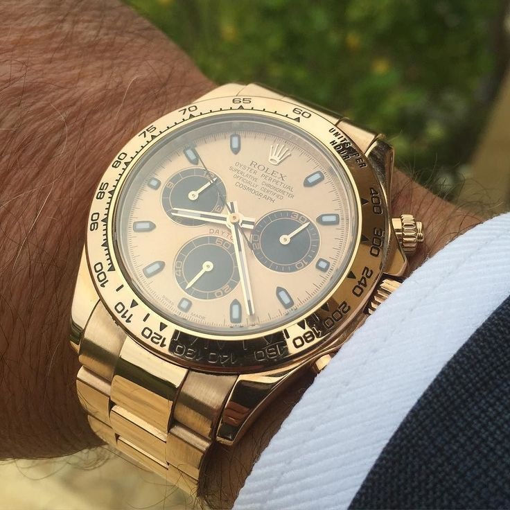 Rolex Daytona. Gold