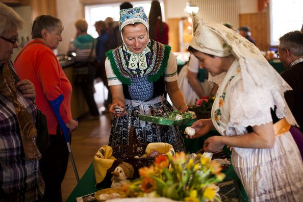 Silvia Richter Photo - Sorbians Prepare Easter Eggs