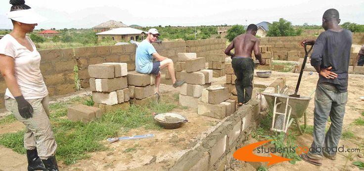 Great things happend with the help of #Volunteers in #Ghana