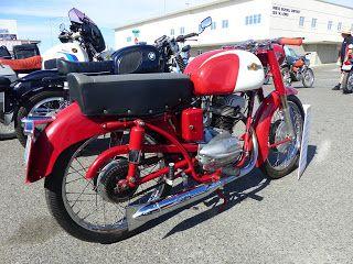 OldMotoDude: 1958 Mi-Val M5L 175 OHC -- Voted Best European Bik...