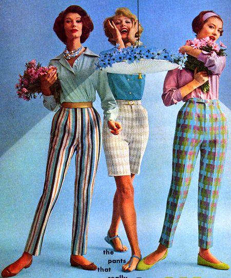 Best 25+ 1950s fashion pants ideas on Pinterest