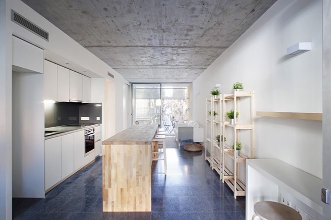 nook architects | Barceloneta Apartments
