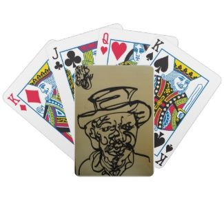 Poker playing cards emblazoned with original caricatures and portraits. Commission yours by emailing your instructions to; godfrey.clean@gmail.com