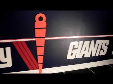 NY Giants Game Room