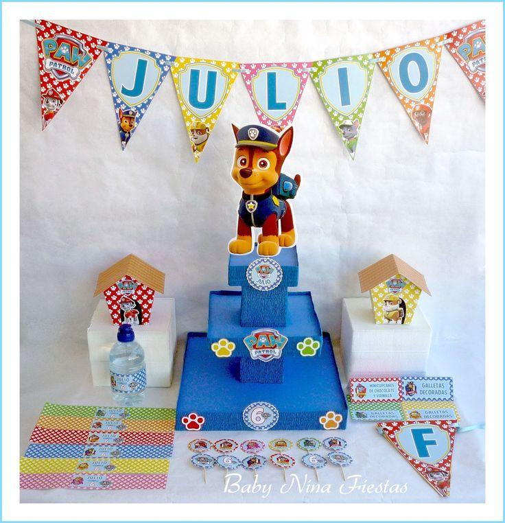 kit cumpleaños patrulla canina