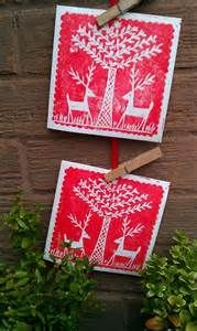 christmas lino prints - Yahoo Image Search Results