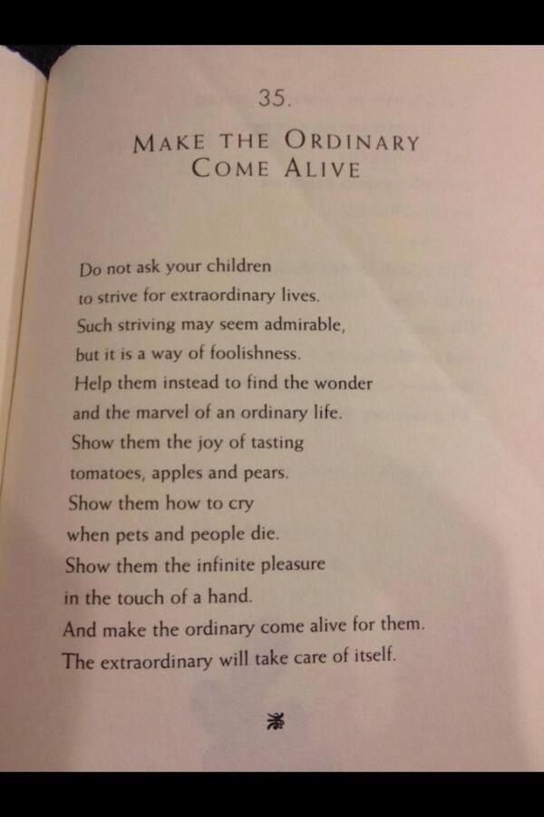 Make The Ordinary Come Alive | William Martin