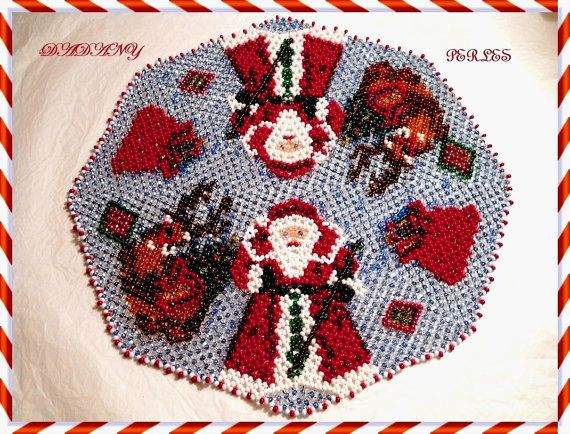 Hey, I found this really awesome Etsy listing at https://www.etsy.com/listing/167841633/pattern-bead-weaving-doily-christmas-st