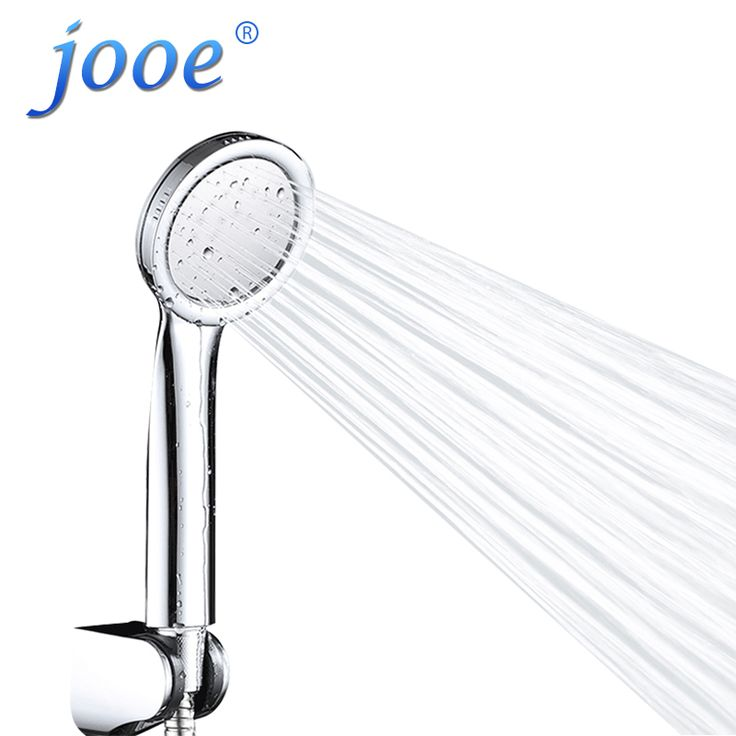 jooe Bathroom Handheld Water Saving Shower Head High Pressure ABS with chrome hand hold waterfall shower heads ducha Chuveiro #Affiliate