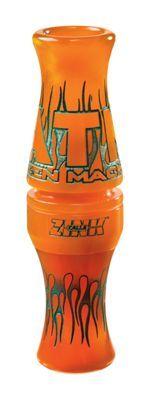 Zink Calls ATM Duck Call - Orange Marbleade