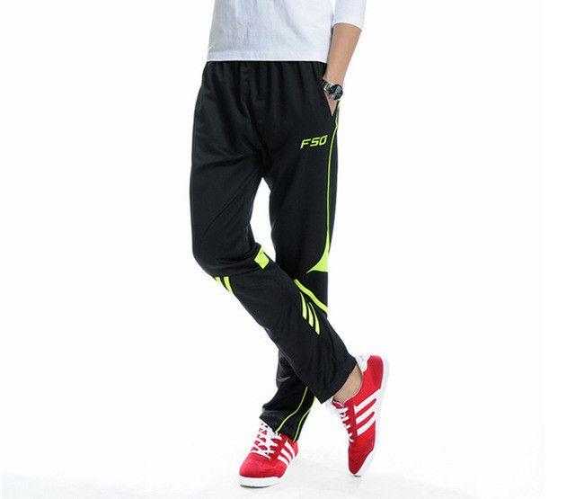 Men soc cer pants harem pantalones deporte foot ball trai ning pants high quality spo rts sweatpants skinny joggers stripes