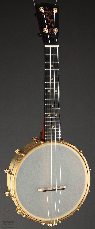 (Bill) Rickard Banjos Concert scale Banjo Ukulele --- https://www.pinterest.com/lardyfatboy/