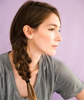 How to rock a mermaid style braid this spring