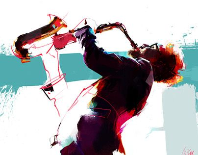 """Check out new work on my @Behance portfolio: """"Musicians"""" http://be.net/gallery/45499591/Musicians"""