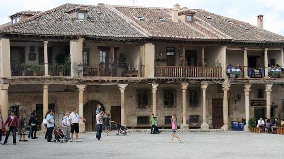 Casas porticadas de Pedraza. Mónica Rico