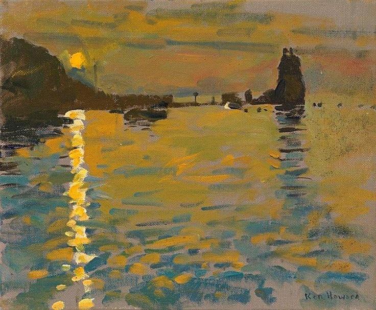 Ken Howard Sunset from Porto di Ponente, Volcano