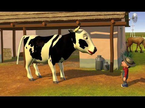 Señora Vaca - Canciones Infantiles de la Granja - YouTube
