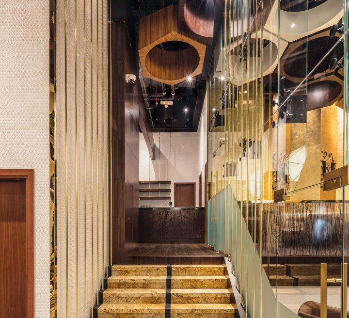 Nurai Restaurant By 4SPACE Dubai UAE Retail Design Blog