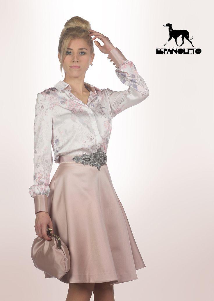 vestido mamá comunión, vestido cóctel, moda española, vestidos exclusivos, vestido ceremonia, vestido corto, marca de moda, diseño español