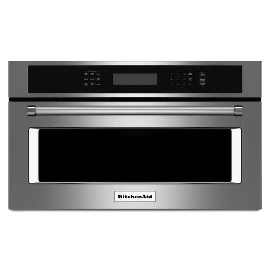 Shop Kitchenaid 1 4 Cu Ft Built In Convection Microwave With