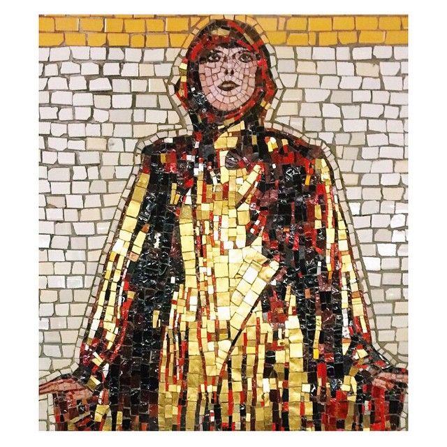 MOSAIC || Art at 66th St Station... You can find it everywhere! #SchoellerDarlingDesign #Mosaic #Art #Inspiration #Design #Decor #Idea
