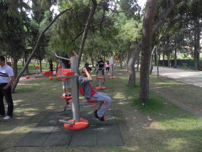 Άλσος Νέας Σμύρνης: Άθληση στη φύση