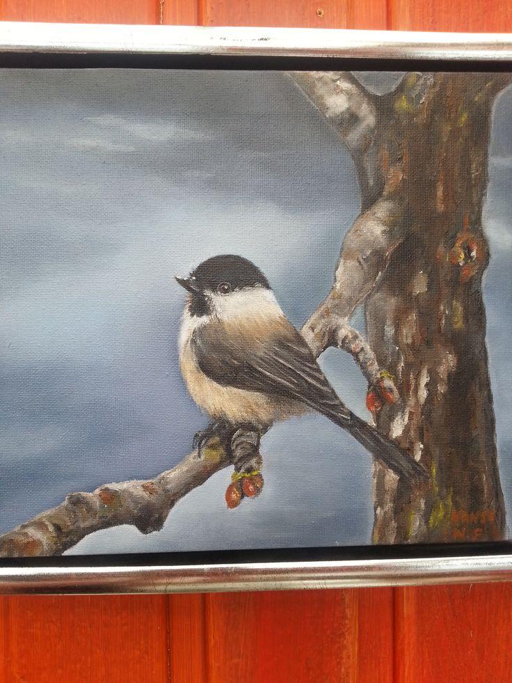 """"""" Granmeis """" Oil painting by Nansy N. Pedersen"""