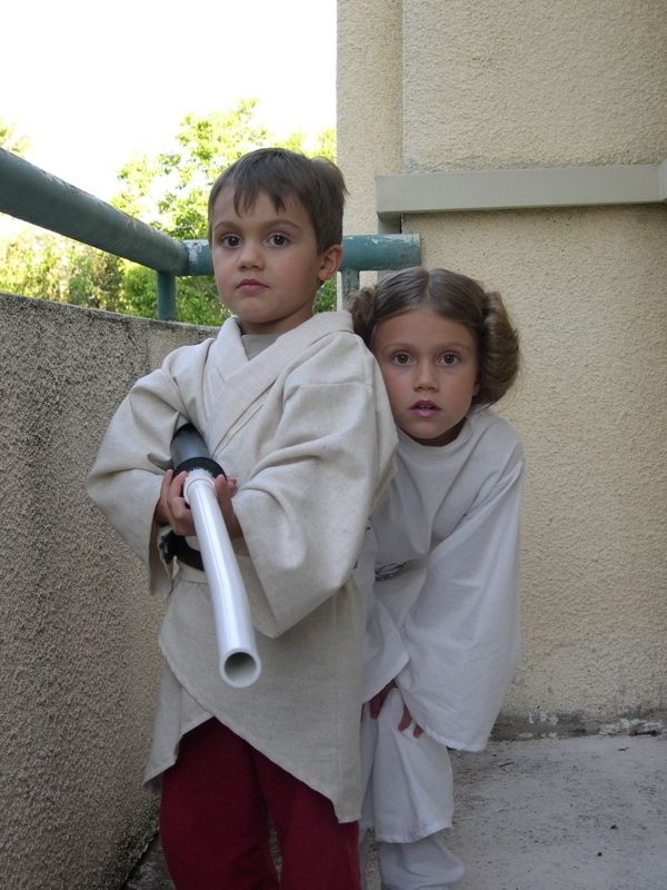 Hold a costume contest!  15 Adorable Pictures of Kids in Star Wars Costumes. These will be my kids one day!