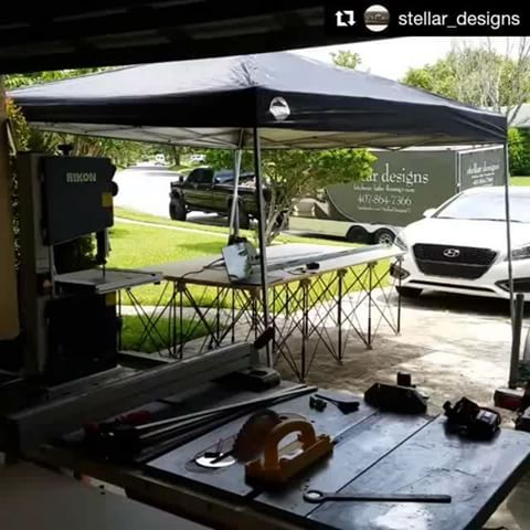 We love this portable jobsite setup with a huge #CentipedeSupport workbench. You're gonna love his Festool tracksaw giveaway. Check out (& follow) @stellar_designs for info. Repost: Finishing up the built ins for our Clermont project!  @centipedetool @festool #carpentry #wood #stone #contractor #renovate #renovation #remodeling #floor #quality #diy #woodworking #keepcraftalive #perfection #classy #luxury #timeless #love #life #orlando #florida #teamwork #beauty #photooftheday #ceiling