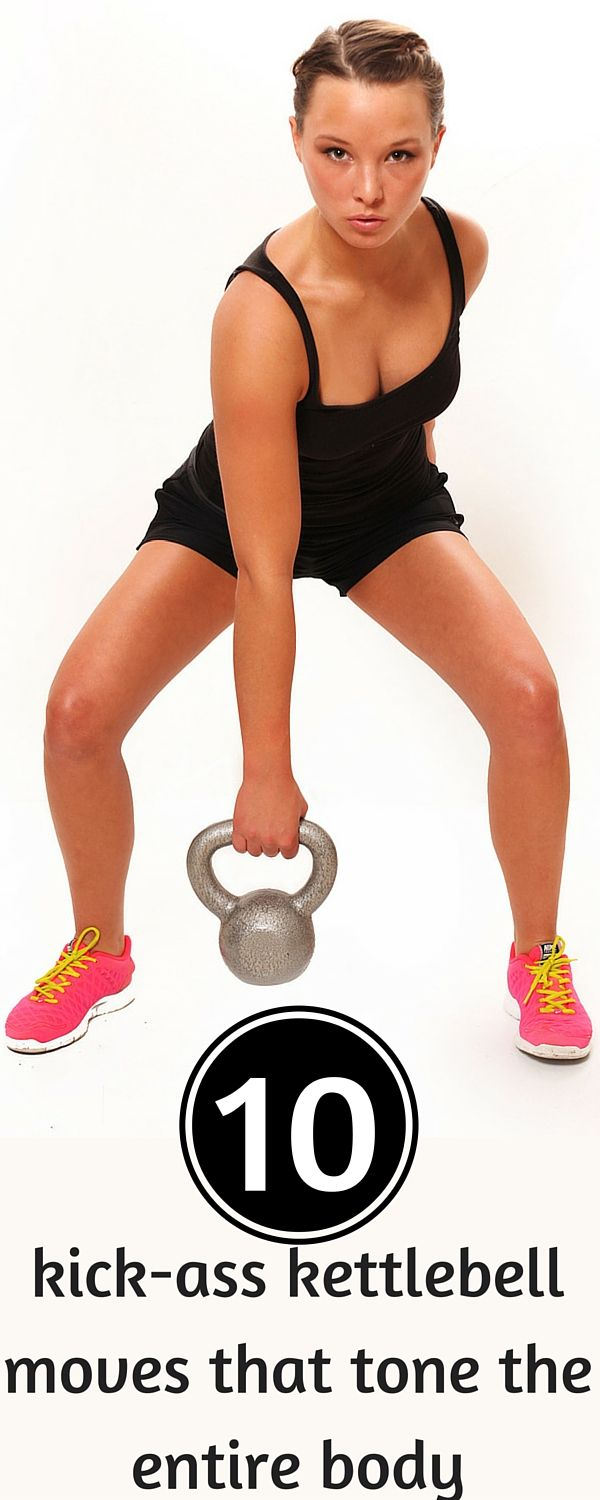 The only kettlebell workout you need to get a lean and mean fit body.