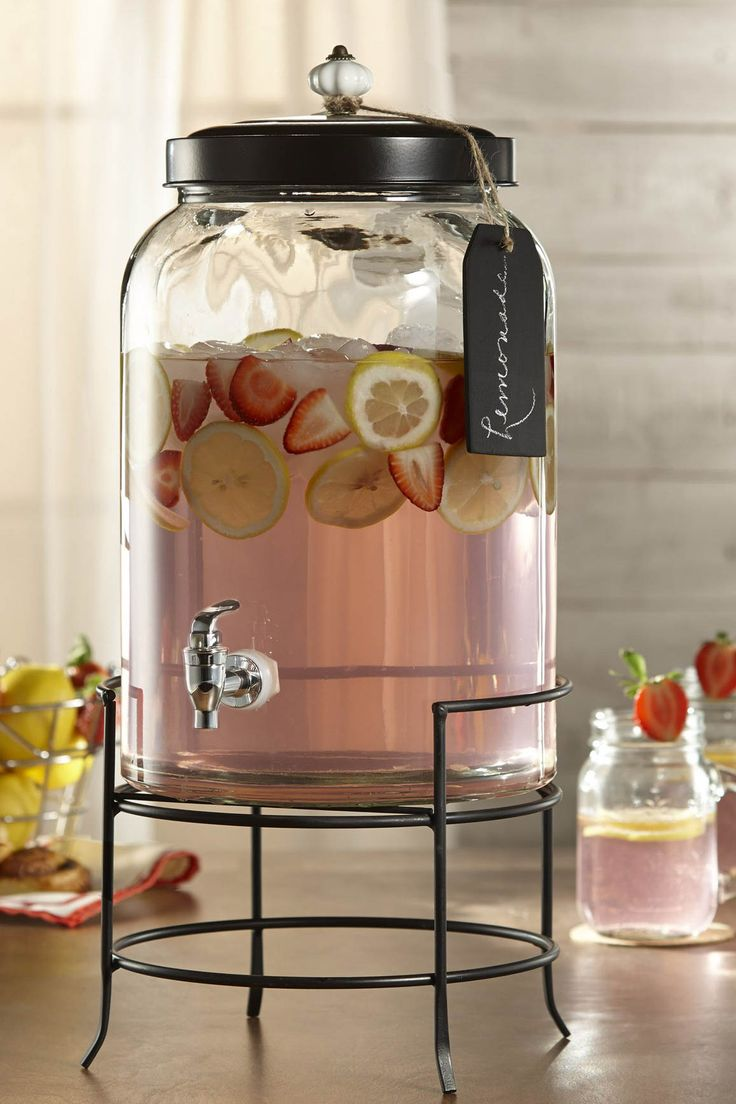 Wow your guests with this beautiful dispenser from Classic Hostess.