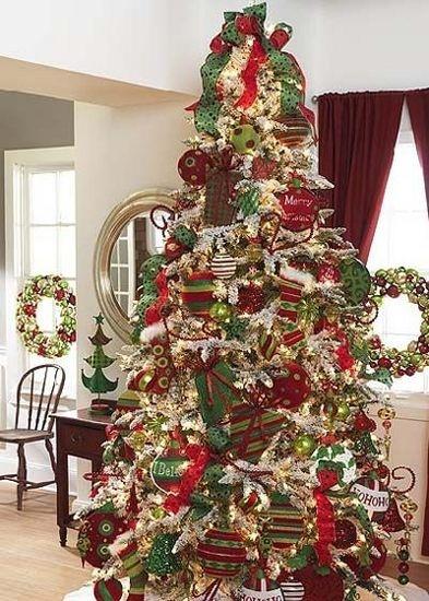Christmas TreesHoliday, White Christmas Trees, Gift Christmas, Decor Christmas Trees, Christmas Decor Ideas, Christmas Colors, Raz Christmas, Gift Trees, Christmas Ideas