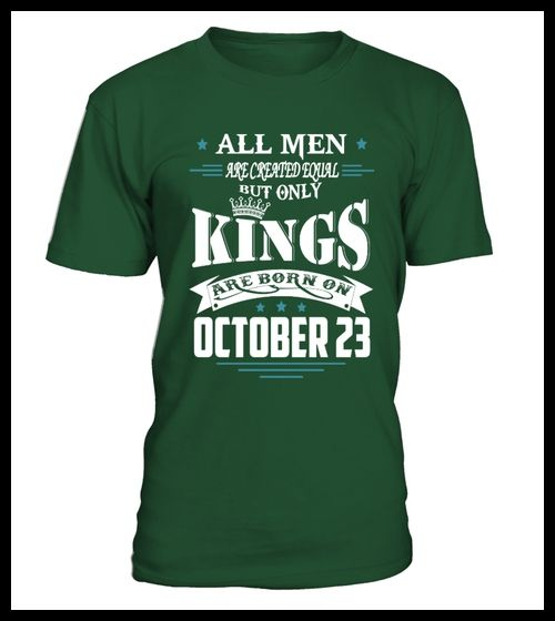 Kings are born on October 23 (*Partner Link)