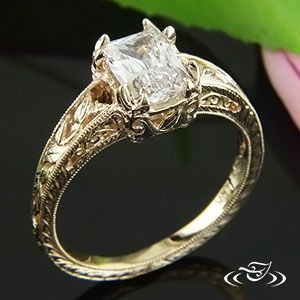 Design Your Own Unique Custom Engagement Ring And Unusual