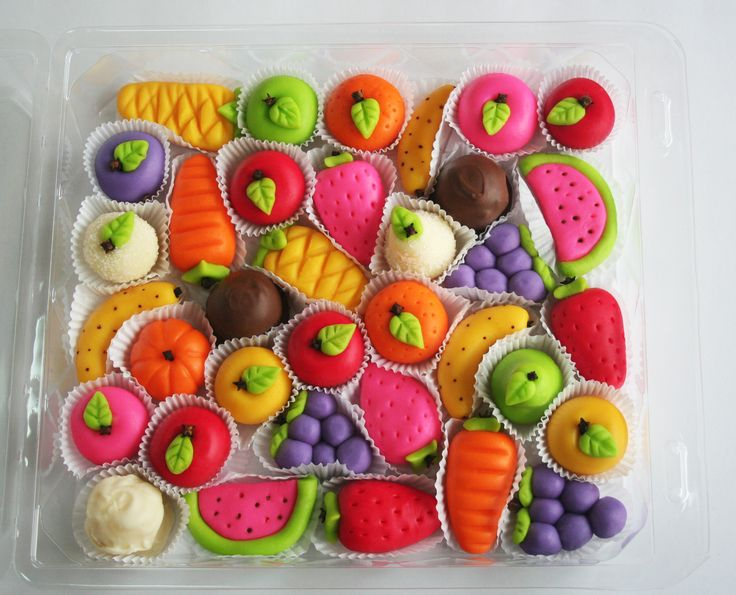 marzipan fruits made by me!
