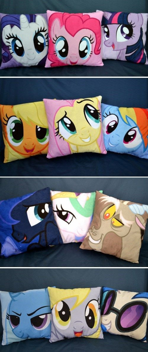 Rest Your Weary Head Tell me your favorite(s) in the comments mine are Twilight, Fluttershy, Luna, Derpy and Trixie