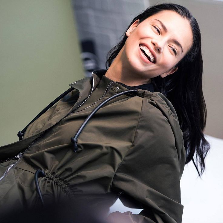 sportmax: A fusion of functionality and style: this season's classic oversized #sportmax parka, modelled by beautiful Adriana Lima backstage at the #FW17 collection campaign - link in bio to shop