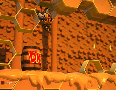 "Check out new work on my @Behance portfolio: ""Donkey Kong - Wasp Hive Remastered (FAN MADE)"" http://be.net/gallery/38785095/Donkey-Kong-Wasp-Hive-Remastered-(FAN-MADE)"